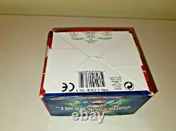 Pokémon Base Set Booster Box EMPTY with acrylic display case Blue Wing WOTC