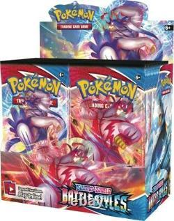 Pokemon Battle Styles Booster Case 6 Box Display TCG Sword Shield SWSH5