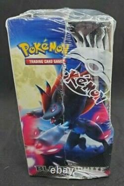 Pokemon Black & White Base Set Factory Sealed Booster Box with Display Case