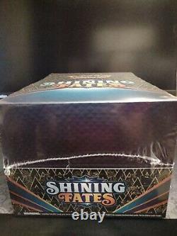 Pokemon Card Shining Fates Pin Box Collection Display Set Factory Sealed Case