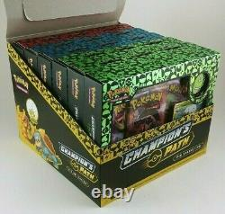 Pokemon Champions Path Pin Collection Boxes Retail Display Case of 6 Boxes