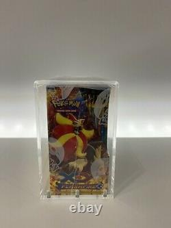 Pokemon Flashfire Factory Sealed Booster Box with Display Case Read Description