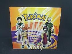Pokemon Gym Heroes Factory Sealed Booster Box WOTC Yeti Gaming with Display Case