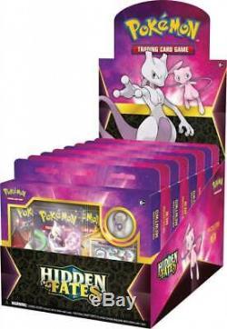 Pokemon Hidden Fates Pin Collection Case Display Box Please Read Description