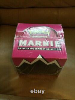 Pokemon Marnie Premium Tournament Collection Display Box Case Factory Sealed
