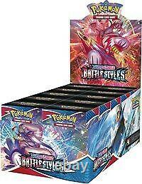 Pokemon SS5 Battle Styles Build and Battle Box Display 10 Box Case Pre-Sale