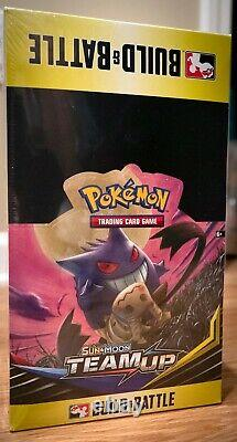 Pokemon Team Up Build & Battle Box Prerelease Kit Display of 10 Kits CASE