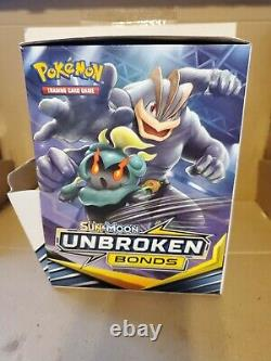 Pokemon UNBROKEN BONDS Display Mega Case with 96 cts 3 cards mini booster