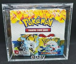 Pokemon XY Flashfire Factory Sealed Booster Box with Display Case