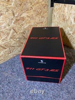 Porsche GT3 RS Helmet Case In Display Box Very Rare