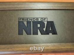 RARE Buck Knives 119 75th Anniversary Friends of the NRA Display Case NEW in Box