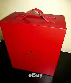 Remy Martin Louis XIII Cognac Baccarat Crystal Bottle Decanter Display Box Case