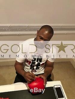 Roy Jones Jr Hand Signed Boxing Glove In Display Case 9x World Champion RARE COA