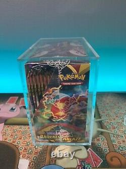 Sealed Pokémon Sw&Sh Darkness Ablaze Booster Box with Acrylic Display Case