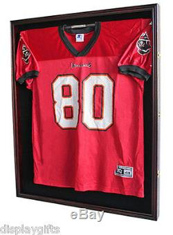 Shadow Box for XL Football Hockey Jersey Case Frame, Lock, Cabinet JC02