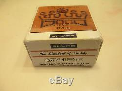 Shure V15 Type II Cartridge And Genuine Shure Vn15e Stylus & Display Case + Box