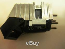 Shure V15 Type III Cartridge & Genuine Shure Vn35e Stylus + Display Case / Box