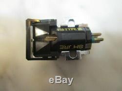 Shure V15 Type III Cartridge & Genuine Shure Vn35he Stylus In Display Case Box