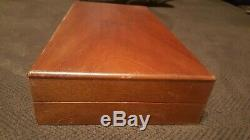 Smith And Wesson S&W Wood Wooden Box display Case 44mag 357 Mag revolver