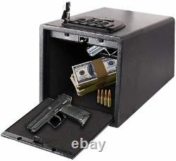 Solid Steel Handgun Hanger Quick Access Electronic Pistol Security Box with Safe