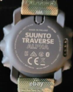Suunto Traverse Alpha Watch OW151 Foliage Band (New Other, Used in Display Case)