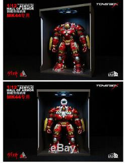 TOYS-BOX Comicave Iron Man MK44 6'' Hall Of Armor Display Box Dust Proof Case