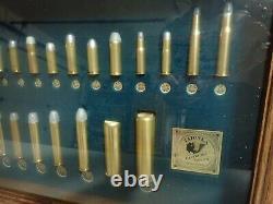 Tatonka Cartridge Co. Display case. 17 x 11 x 2