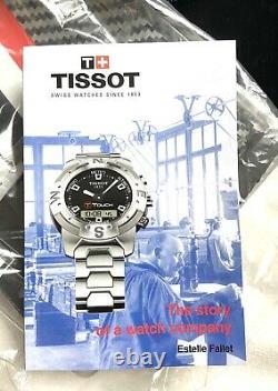 Tissot T-Race Limited Edition Motogp Helmet Box Display Case + Drawstring Bag