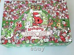 Tokidoki Holiday Unicorno Series 2 Vinyl Figure Display Case of 12 Blind Boxes