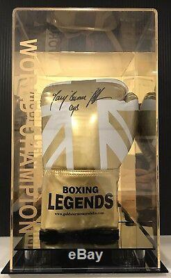 Tony Bellew Signed Boxing Glove In A Display Case World Champion RARE COA
