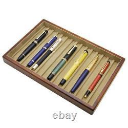 Toyooka Wooden Stationery Fountain Pen Box Case Tray Display