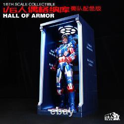 Toysbox 1/6 Hall Of Armor Transparent panel Dustproof Box Display Case Toy