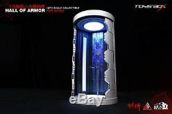 Toysbox 1/6 RC Open / Close Hall Of Armor Display Case Box For Iron Spider Man