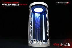 Toysbox 1/6 Scale The Spider Man Hall Of Armor Case Display Box Case Toy TB088