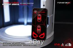 Toysbox 1/6 The Spider Man Hall Of Armor Display Case Box Remote Control