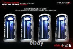 U. S. SELLER 1/6 Toysbox TB088 The Spider Man Hall Of Armor Display Box Case