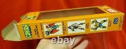 VINTAGE MEGO 1970's WGSH CONAN WITH ORIGINAL BOX + DISPLAY CASE