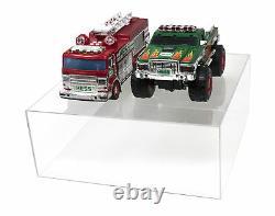 Versatile Acrylic Clear Display Case Rectangle Box 15 x 15 x 6 (A030-A)