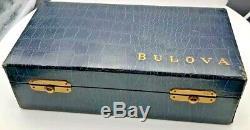 Very Rare Vintage Bulova 6 Watch Display Case Box