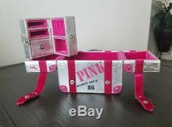 Victoria's secret VS PINK jewelry box display case dog logo Collectable