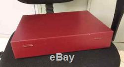 Vintage Suitcase Case Box Display Rare Victorinox Swiss Army Knife 58 84 91mm