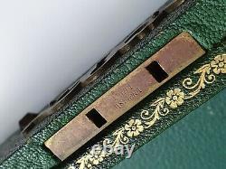 Vintage original Rolex case box chest trunk display ENSUEÑO DE ORO hard to find