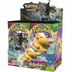 Vivid Voltage Booster Case SEALED Pokemon Sword & Shield 6 Booster Box Display