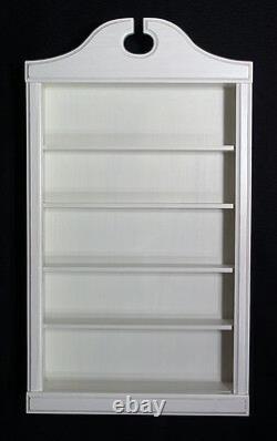 Wall Curio Cabinet Shadow Box Display Case Shelf