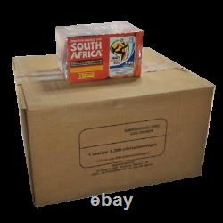 World Cup Sticker Album- Panini South Africa 2010 Master Box of 12 Displays