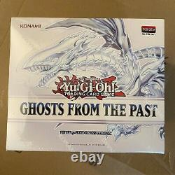 YUGIOH TCG Ghosts from the Past Case 10 Display Boxes = 50 Mini Boxes SHIPS NOW