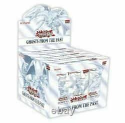 YuGiOh Ghosts from the Past 1st Edition Sealed Display Case 5 Mini Boxes in Hand