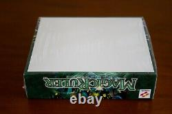 Yugioh 1st Edition Magic Ruler Booster Box Factory Sealed MRL with Display Case