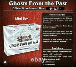 Yugioh Ghost From The Past Case 10 Display / 50 Mini Boxes / 150 Packs