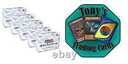 Yugioh Ghosts From The Past 1 Case (5 Boxes) Preorder Sealed Display Case